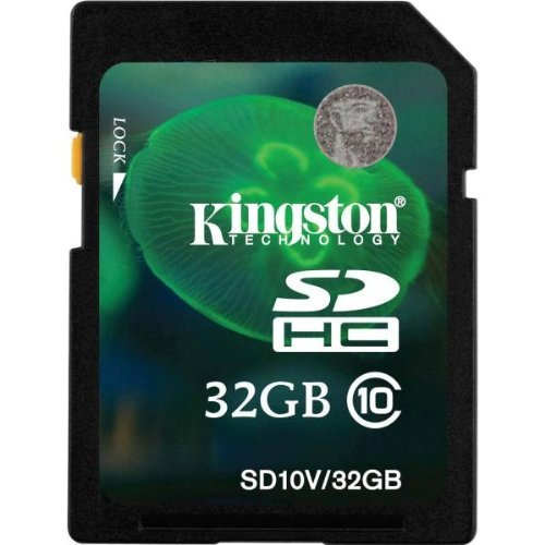 SDHC 32GB Class 10 Secure Digital High-Capacity Card