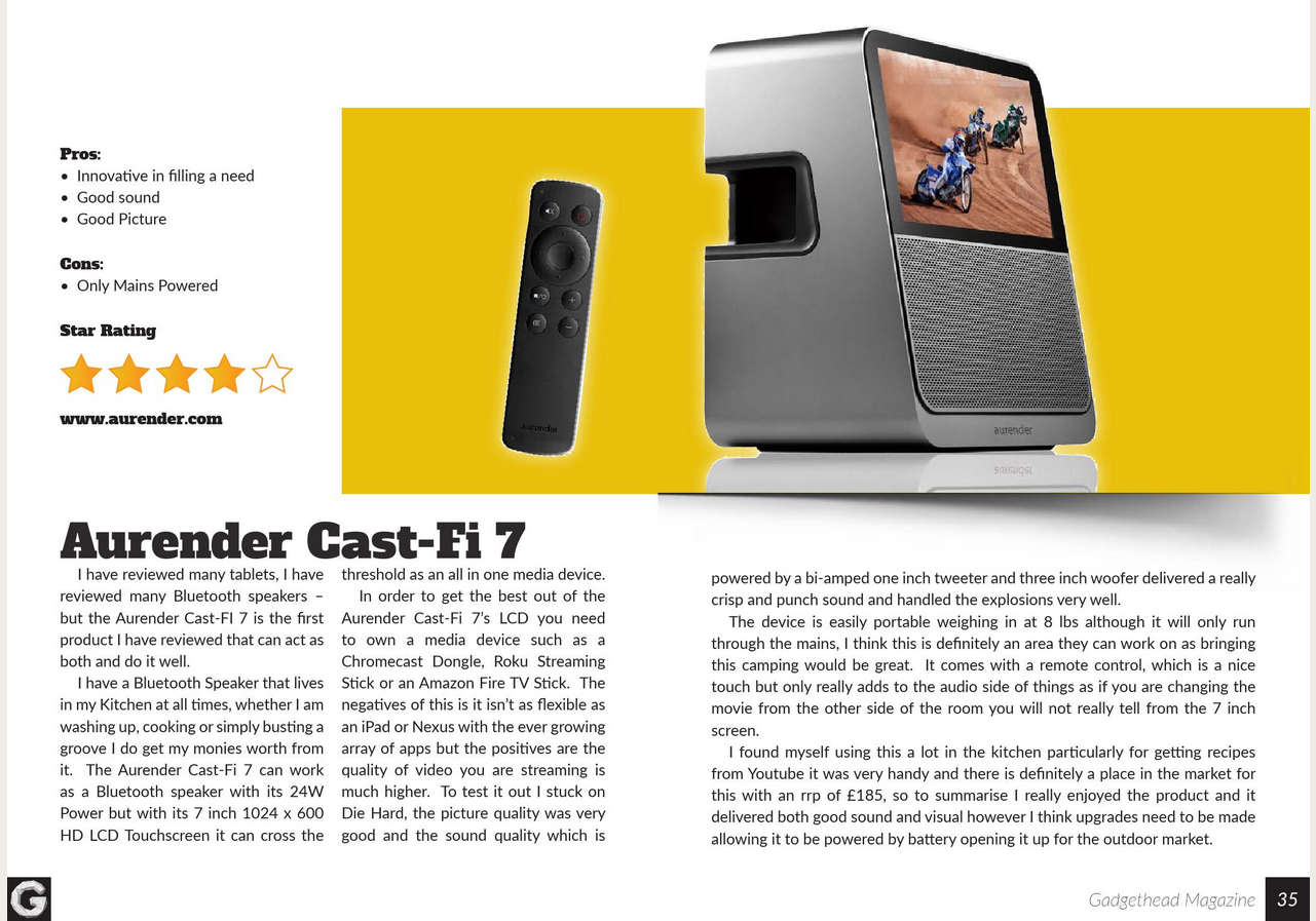 Littlegate Publishing Ltd - Endeavour Magazine - Gadgethead 1.6 Magazine OCT/NOV 2015